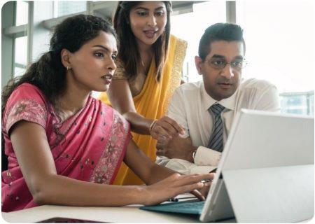 Software Employees Teamwork