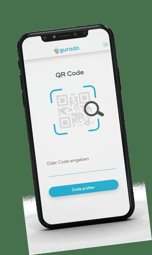 Gutscheincode scannen